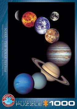 PUSSEL NASA SOLSYSTEM 1000 BITAR