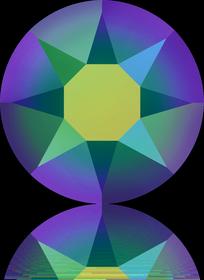 SS20 Crystal Scarabaeus Green (001 SCGR) HF