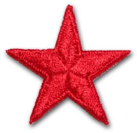 Stjärna - röd