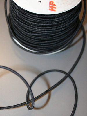 RESÅRSNODD - Svart 2,5 mm