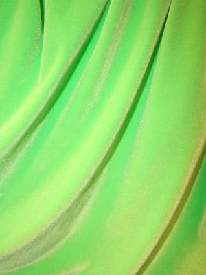 SAMMET -  neongrön