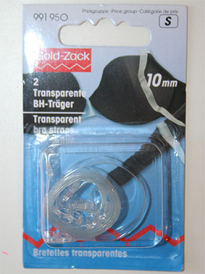 BH-band - transparenta, 2-pack