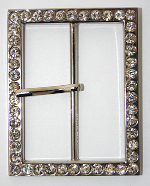 STRASSPÄNNE - 6,4 x 5 cm