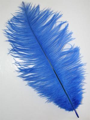 FJÄDER - 30 cm | blå