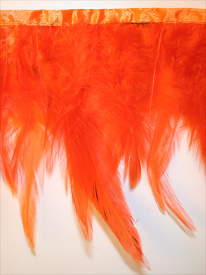 FJÄDERFRANS - orange