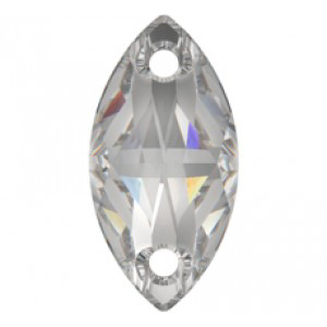 NAVETTE - Crystal 18x9 mm
