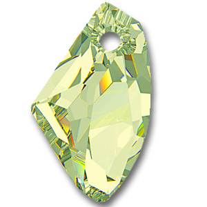 6656 Galactic Vertical Crystal Luminous Green (001 LUMG)