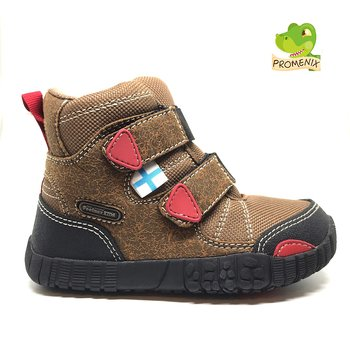 Feelmax - Naapa Brown Barefoot winter shoes, Size 22-35