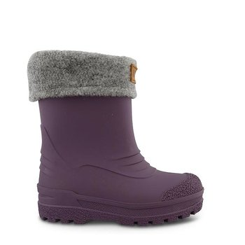 Kavat - Gimo Purple Warm Rubber Boot, Size 22-29