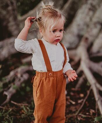 JUMPSUIT BABY - MUSTARD