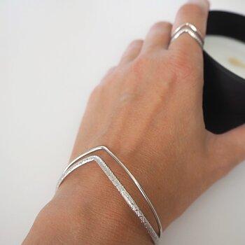 Armband Rostfritt stål PILAR SILVER - Lolo Yaya