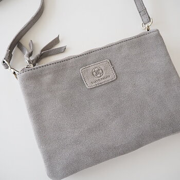 Väska Cross Over 2 i 1 Geminalia Dove Grey - Daily Elegance