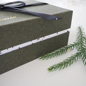 Box med Doftljus & Doftspridare Ginger Joy Grön - Victorian