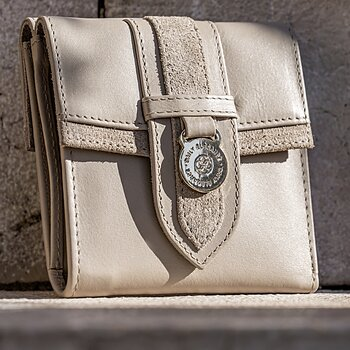 Plånbok Alba Taupe - Daily Elegance