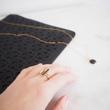 Ring Merapi Guld - Daily Elegance
