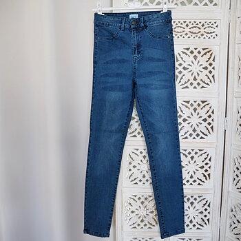 Skinny jeans Tinna BLÅ (flera storlekar) - Saint Tropez