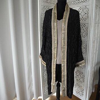 Kimono SVART (två storlekar) - Lo-ika