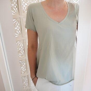 T-shirt  Milkygreen (flera storlekar) - Ajlajk