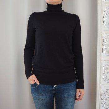 Pullover Mila Rollneck SVART (flera storlekar) - Saint Tropez