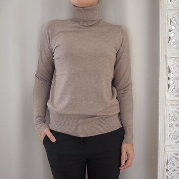 Pullover Mila Rollneck ATMOS MELANGE (flera storlekar) - Saint Tropez
