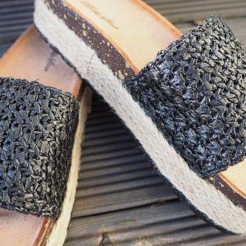 Sandal SVART - Train of Trend