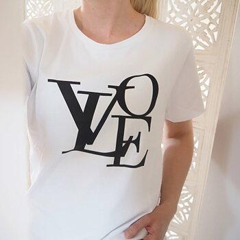 T-shirt FREJA - Vit (flera storlekar)