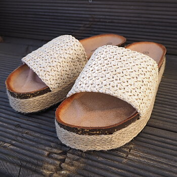 Sandal BEIGE - Train of Trend