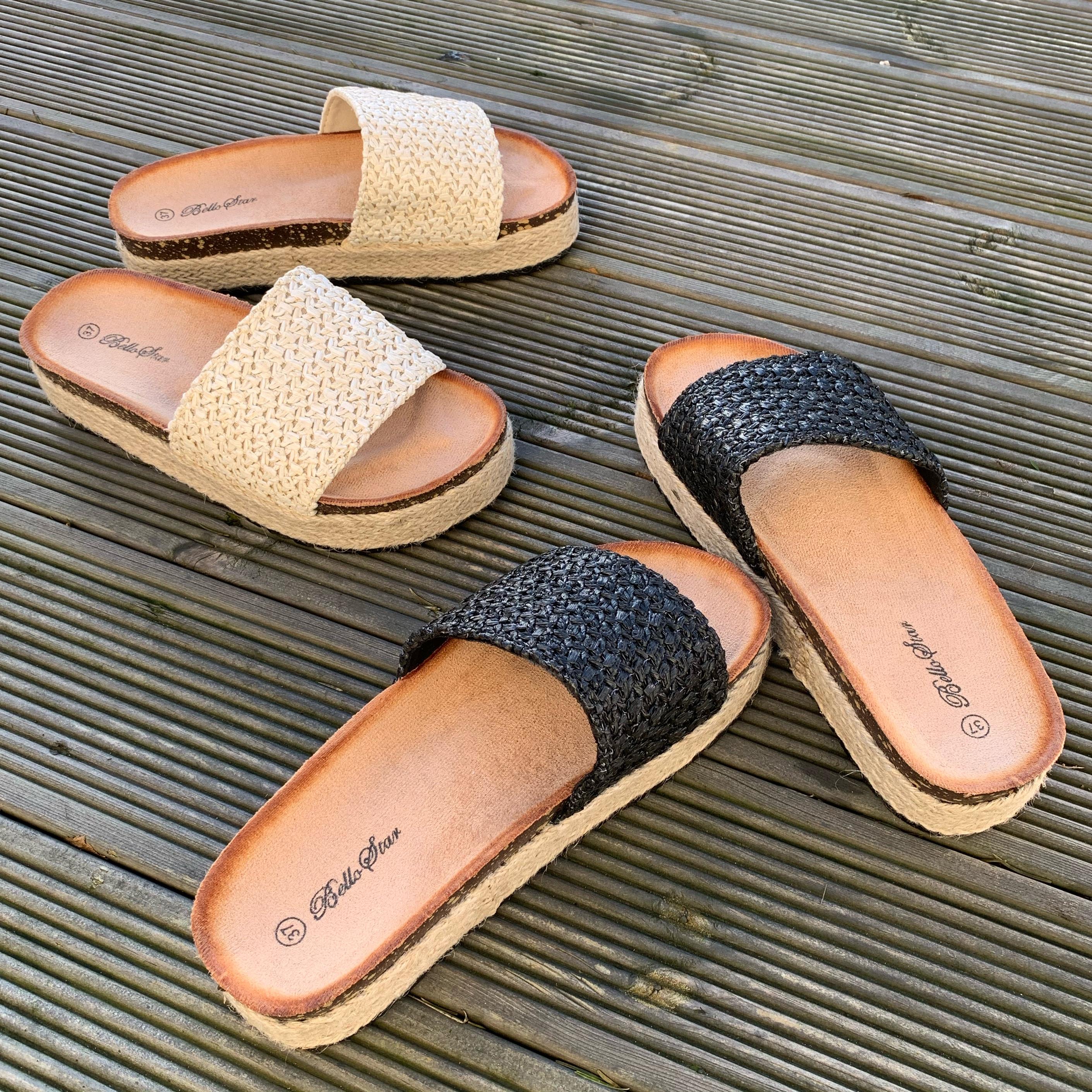 Sandal BEIGE Train of Trend