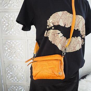 Liten väska/clutch Casual Chic COGNAC