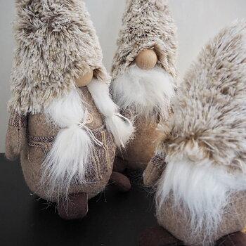 Cozy Santa Noelle 31cm Greige - Majas Cottage