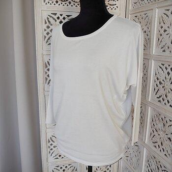 Tröja pullover Mila VIT (flera storlekar) - Saint Tropez