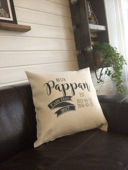 Fathers day  Pillow cover