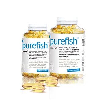 Purefish Omega-3 180 kapslar
