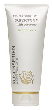 Rosenserien SUNSCREEN WITH CAROTENE