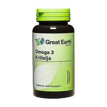 Omega-3 krillolja 60 kapslar