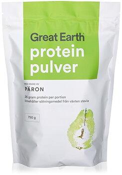 Great Earth Proteinpulver Päron 750g
