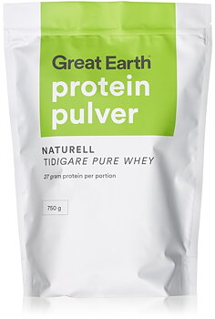 Great Earth Proteinpulver Naturell 750g