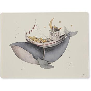 Underlägg Whale, silikon - Konges Slöjd