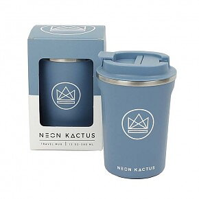 Kactus - Travel Mug - Super Sonic - Blue - 380ml