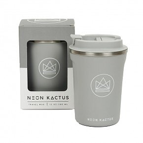 Neon Kactus - Travel Mug - Forever Young - Grey - 380ml