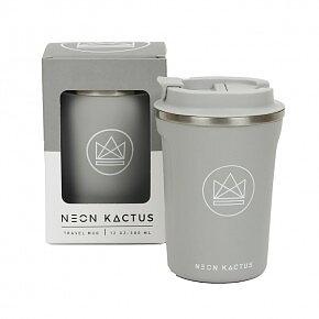 Neon Kactus - Travel Mug - Forever Young - Grey - 380ml