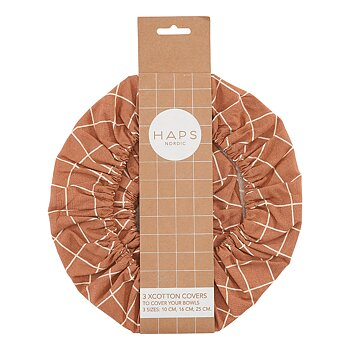 Haps Nordic Cotton Covers Terracotta