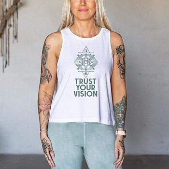"Linne Tank Top ""Trust Your Vision"""