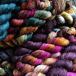 Fru Valborg hand dyed yarn