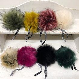 LOVAFUR Faux Fur Pom-Poms