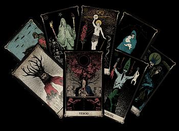 Tarot Cards for KULT: Divinity Lost