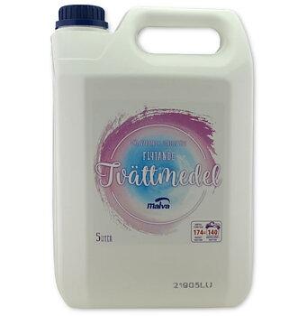 Flytande tvättmedel Malva Flytandetvätt 5L med parfym
