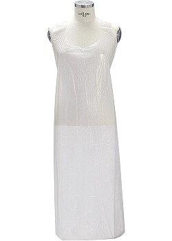Förkläde vit 810x1400mm kartong 40/FP