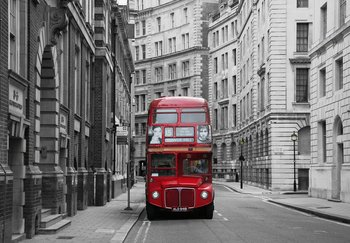Fototapet London buss