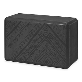 YOGA BLOCK NAVAJO BLACK
